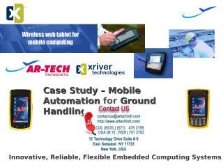 XRiver - Ground Handlng Services.ppt