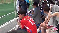 20130526 Kim HyunJoong fancam @ Dream with Korea Cup - 어벤져스 게임 구경하기(ss501.persianfunclub)FLV.mp4