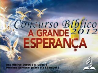 concurso bíblico 2012 - 11.ppt