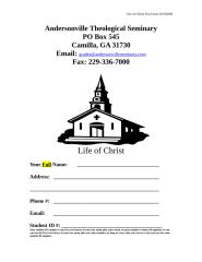 Life of Christ.doc