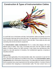 Construction & Types of Instrumentation Cables.pdf