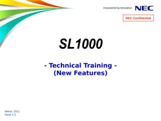 [5] SL1000 Training (New Features) 1-3.ppt