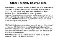 Other Speciality Basmati Rice - Top Basmati Rice Companies.pdf