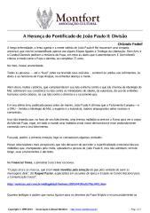 A Herança do Pontificado de João Paulo II -Divisão.pdf
