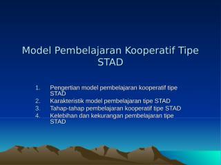 model-pembelajaran-kooperatif-tipe-stad.ppt